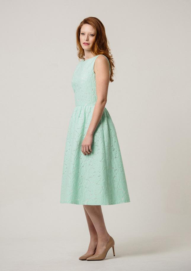 Green Broderie Dress 3