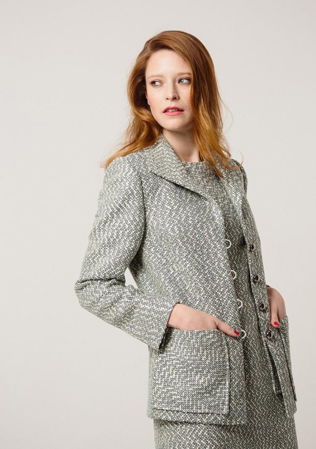 Mint Tweed Jacket 1