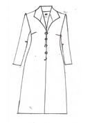 Lilac Brocade Coat