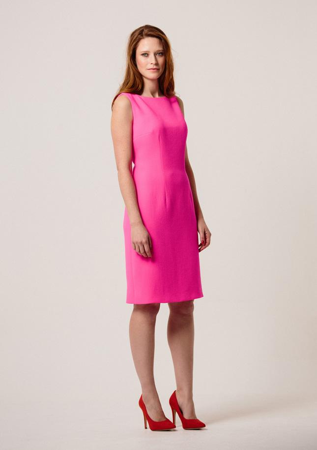 Hot Pink Dress 1