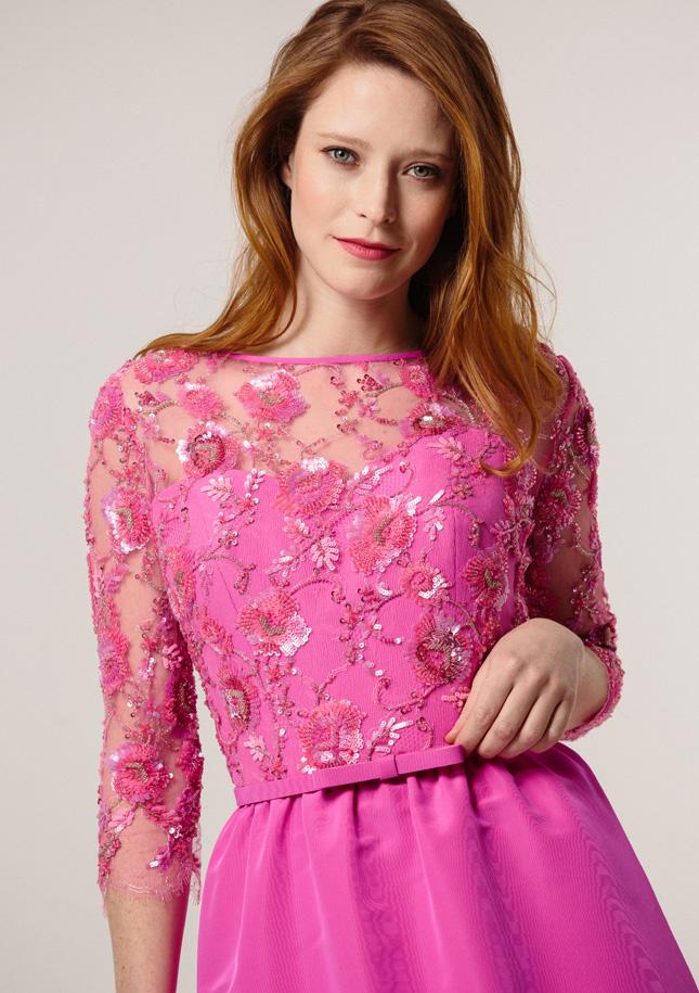 Hot Pink cocktail Dress - Stewart Parvin