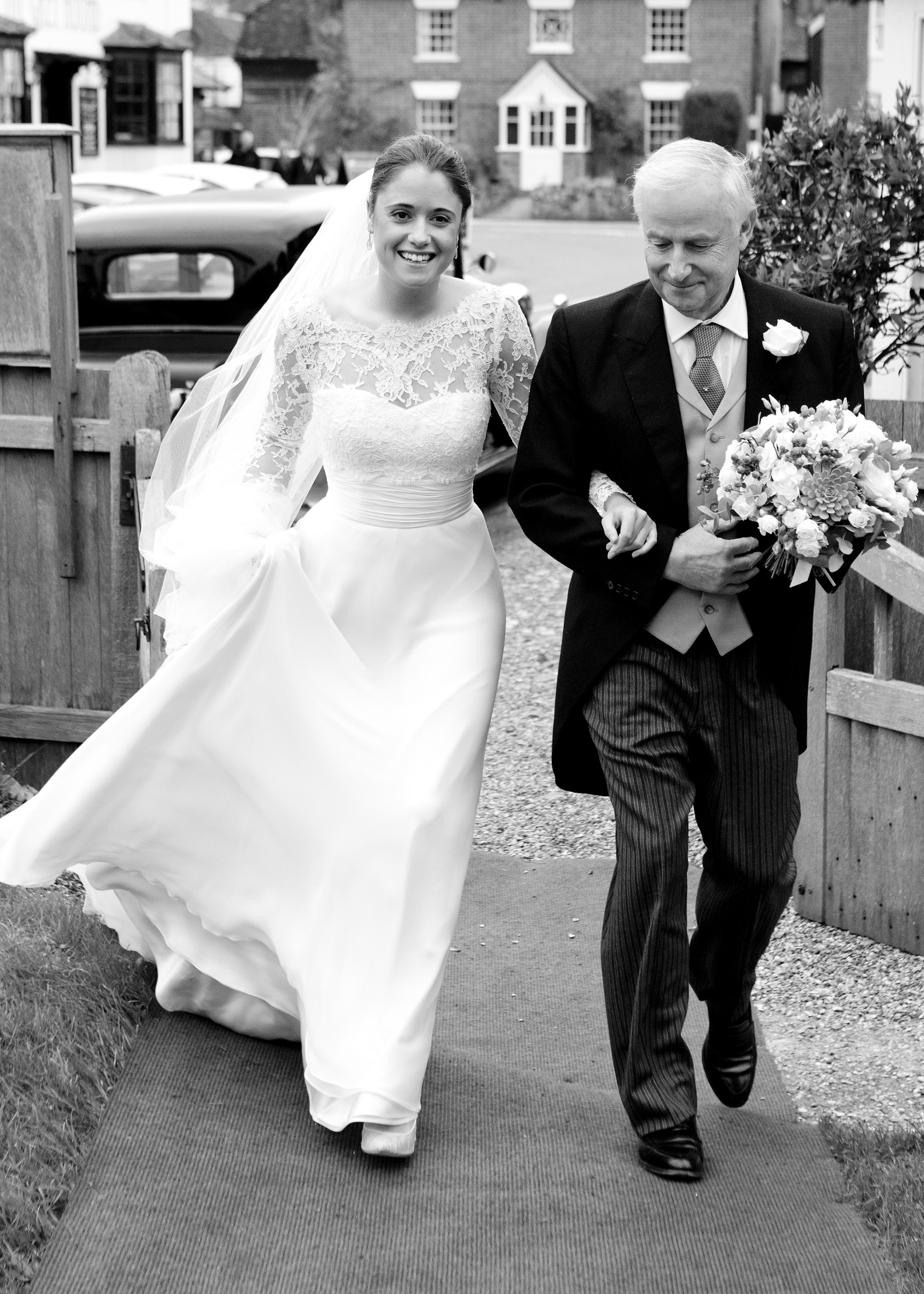 Issy & Ed's wedding, 5th December 2015, Houghton & Broughton, Hampshire