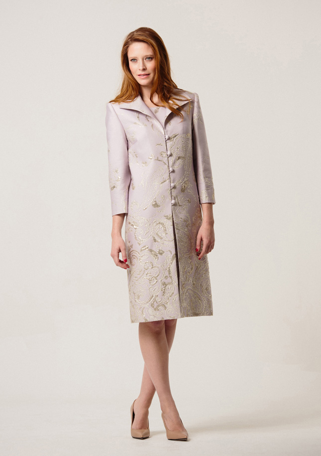 Lilca Brocade Coat