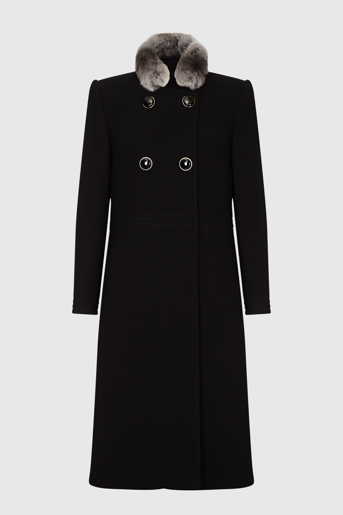 black wool crepe coat_F (1)